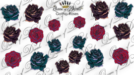 Queen of Decals - Gothic Roses