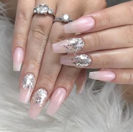 Glitter.Cakey - Silver Cone
