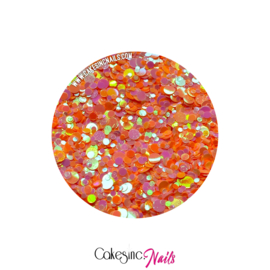 Glitter.Cakey - Peachy Dots 'THE DOTS'