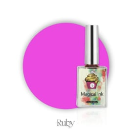CakesInc.Nails - Magical Ink #001 'Ruby'