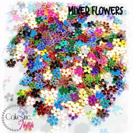 Glitter.Cakey - Mixed Flowers