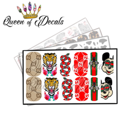 Queen of Decals - Double G's Mousy 'NEW RELEASE'