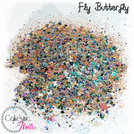 Glitter.Cakey - Fly Butterfly 'CUSTOM MIXED'