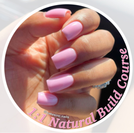 1:1 Private  Natural Build / BIAB Course by CakesInc.Nails