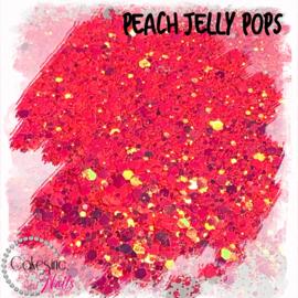 Glitter.Cakey - Peach Jelly Pops 'THE POPS'
