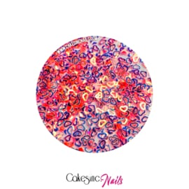 Glitter.Cakey - Rose Quartz 'HOLLOW HEARTS'