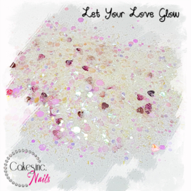 Glitter.Cakey - Let Your Love Glow 'CUSTOM MIXED'