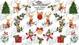 Queen of Decals -  Happy Happy Christmas