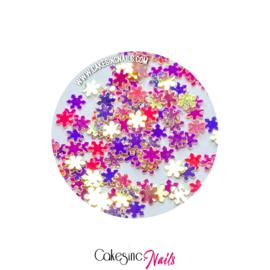 Glitter.Cakey - Peachy Fancy Snowflakes
