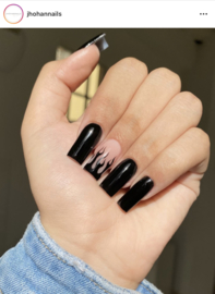 CakesInc.Nails -  Gel Polish '#024 Black Buttercream'