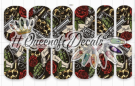 Queen of Decals - Hustle Hard 'NEW RELEASE'