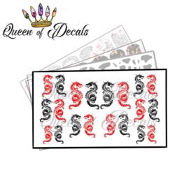 Queen of Decals - Dragon Symbol 'NEW RELEASE'