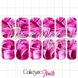 Queen of Decals - Mo Money Pink 'NEW RELEASE'
