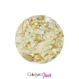 Glitter.Cakey - Beige 'SEA SHELLS'