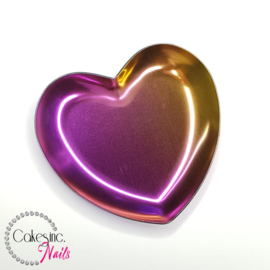 Cakey.Tools - Rainbow Rose Gold Heart Holder