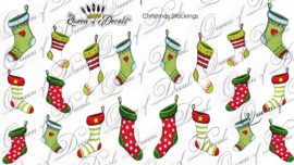 Queen of Decals -  Christmas Stocking