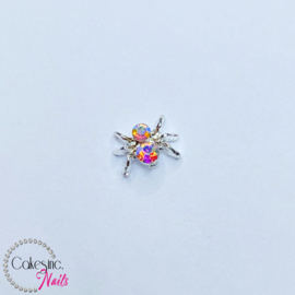 Glitter.Cakey - Silver Crystal Spider 'HALLOWEEN'