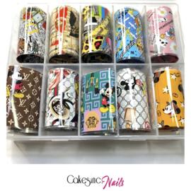CakesInc.Nails - Transfer Foil Set #026 'Luxury Inspired'