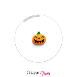 Glitter.Cakey - Orange Pumpkin Charm 'HALLOWEEN'