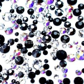 Bluestreak Crystals - Midnight Mix (Preciosa)