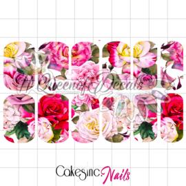 Queen of Decals - Bed of Roses 'NEW RELEASE'