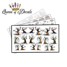 Queen of Decals - Spooky Trees 'NEW RELEASE'
