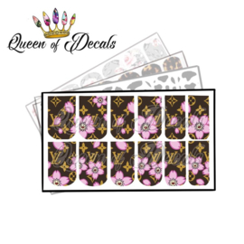 Queen of Decals - V L Cherry Blossom 'NEW RELEASE'