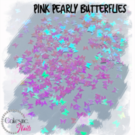 Glitter.Cakey - Pink Pearly Butterflies