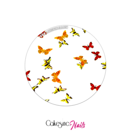 Glitter.Cakey - Autumnal Butterflies 'THE SLICES'