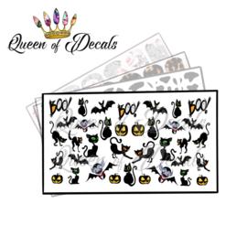 Queen of Decals - Cats & Bats 'NEW RELEASE'