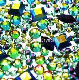 Bluestreak Crystals - Dragon Mix (Preciosa)