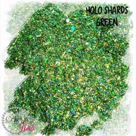 Glitter.Cakey - Holo Shards Green