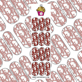 CakesInc.Nails - Brown DD (New Release) 'NAIL DECALS'