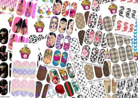 CakesInc.Nails - Mystery Pack (10) 'NAIL DECALS'