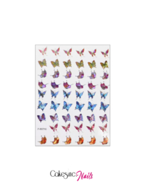 Glitter.Cakey - Holographic Butterfly Stickers (Z-D3710)