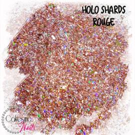 Glitter.Cakey - Holo Shards Rouge