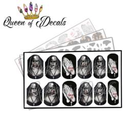 Queen of Decals - The Nun 'NEW RELEASE'