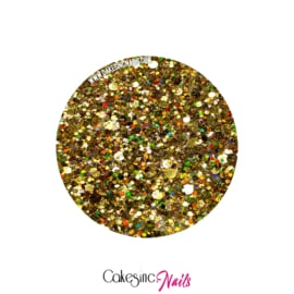 Glitter.Cakey - Luxury Gold 'CUSTOM MIXED'
