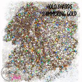 Glitter.Cakey - Holo Shards Shimmering Gold
