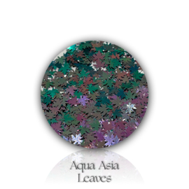 Glitter.Cakey - Aqua Asia 'CHAMELEON LEAVES'