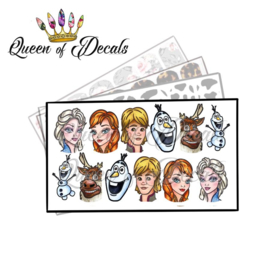 Queen of Decals - Frozen 3 'NEW RELEASE'