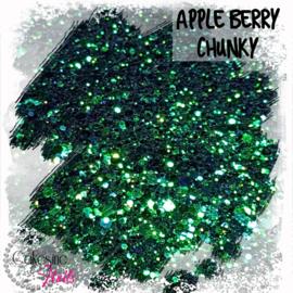 Glitter.Cakey - Apple Berry 'CHUNKY CHAMELEON'