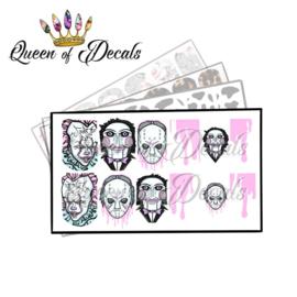 Queen of Decals - Pastel Horror 'NEW RELEASE'
