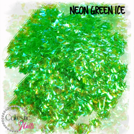 Glitter.Cakey - Neon Green Ice