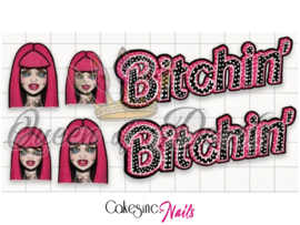 Queen of Decals - Bitchin Barbie Pop Art 'NEW RELEASE'