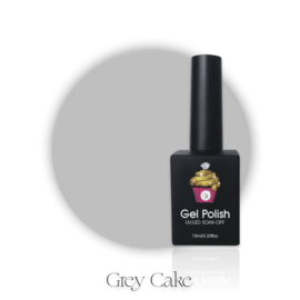 CakesInc.Nails -  Gel Polish '#019 Grey Cake'