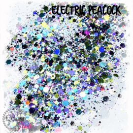 Glitter.Cakey - Electric Peacock 'THE STARTER'