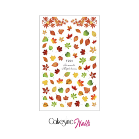 Glitter.Cakey - Romantic Maple Leaves 'Sticker Sheet'