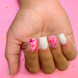CakesInc.Nails - Transfer Foil Set #014💗  'Easy Marbling'