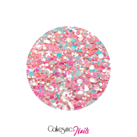 Glitter.Cakey - Bubbly Pink 'THE DOTS'